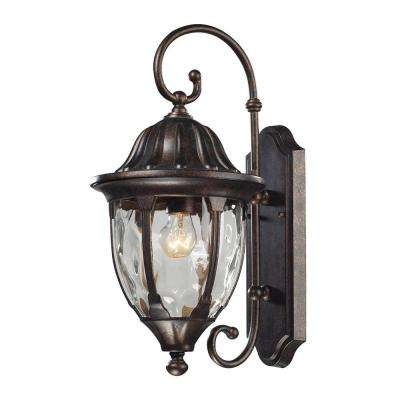 Glendale 1-Light Regal Bronze Outdoor Sconce