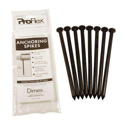 ProFlex Paver Edging Anchoring Spike Pack, (8) 8 in. Spikes