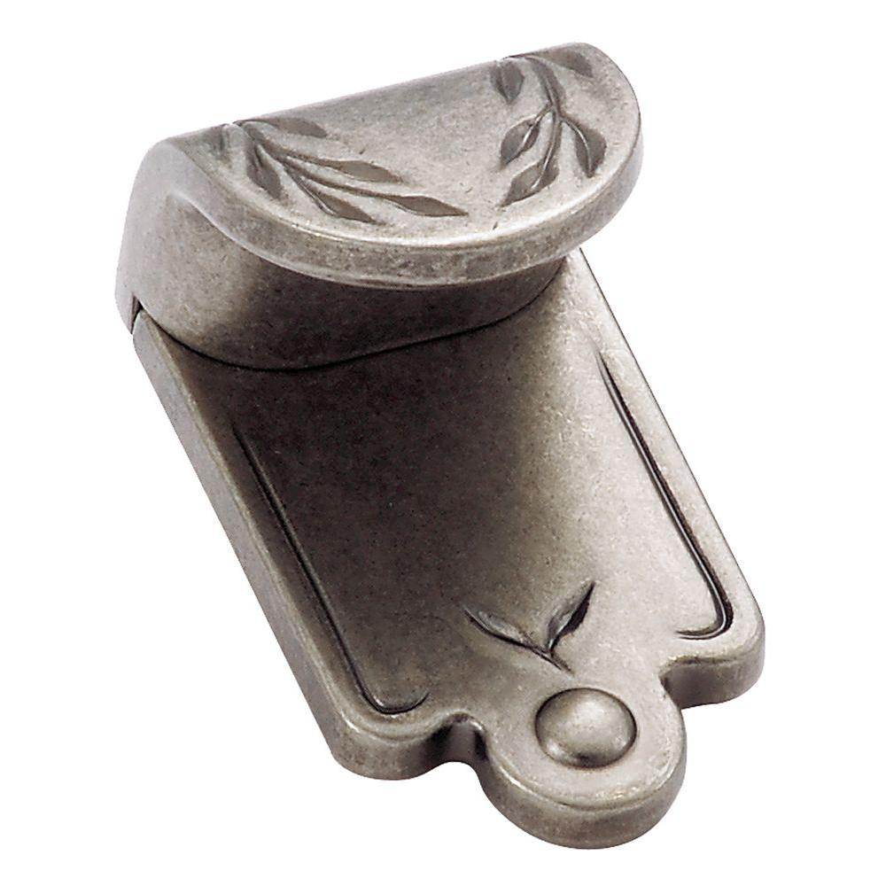 amerock inspirations 1 in. oil-rubbed bronze leaf finger pull