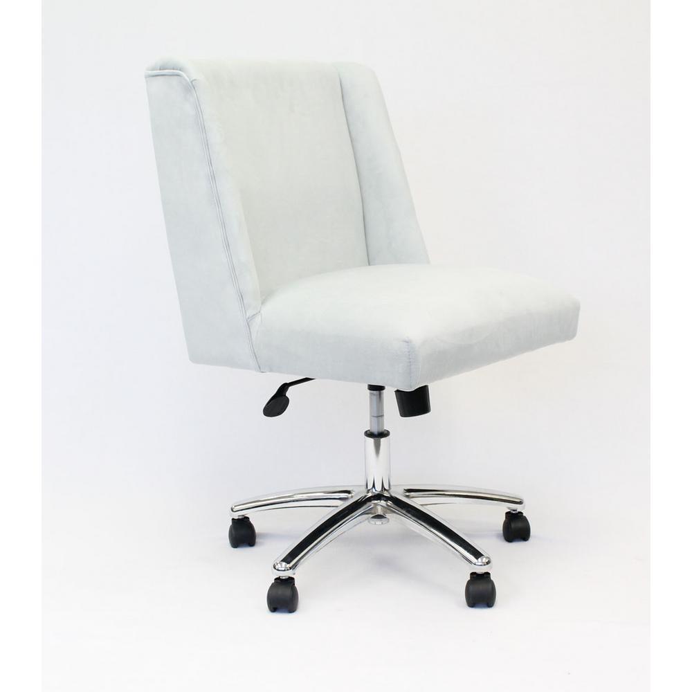 Light Grey Decorative Task Chair