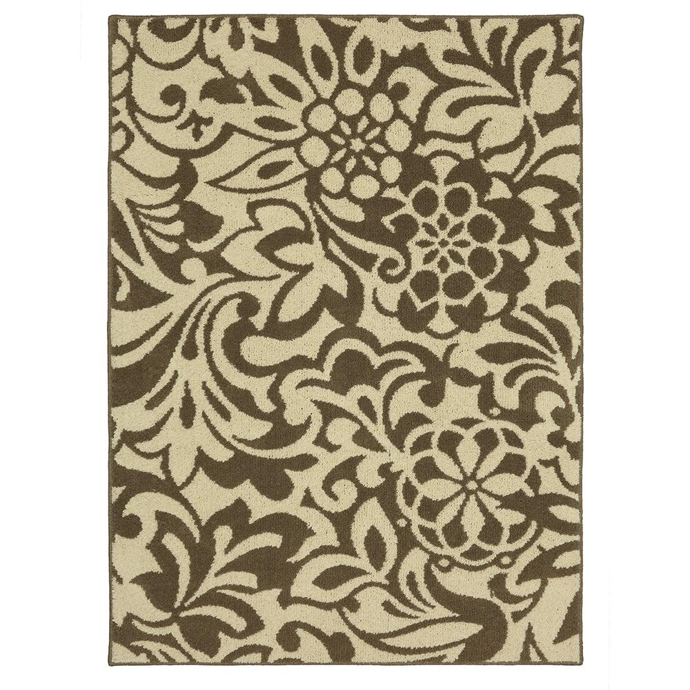 Mohawk Home Simpatico Taupe Starch 7 Ft X 10 Area Rug 567798 The Depot