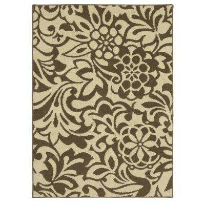 Simpatico Taupe Starch 5 ft. x 7 ft. Area Rug