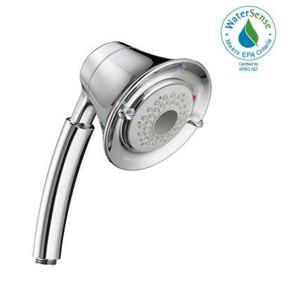 FloWise Transitional Water-Saving 3-Spray Hand Shower in Polished Chrome