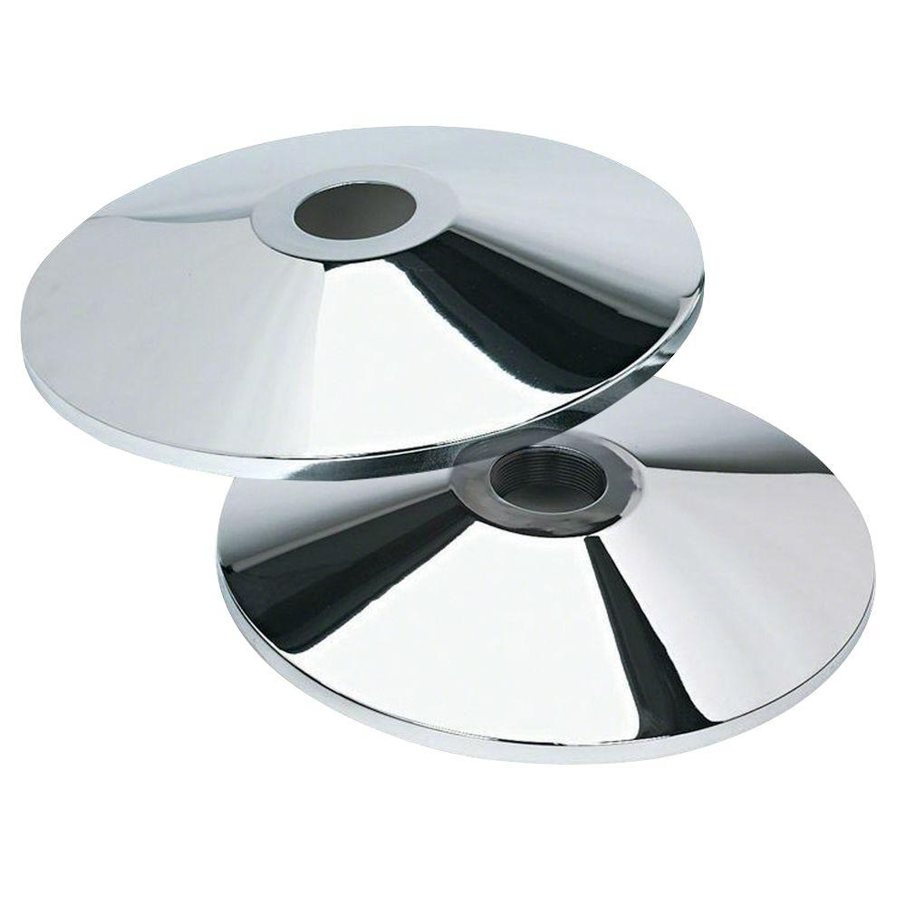 Adjustable-Tape Stanchion Flat Base (2-Piece per Box)