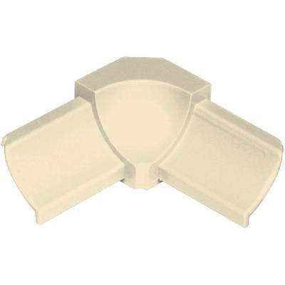 Dilex-PHK Sand Pebble 1/2 in. x 1 in. PVC 90 Degree Inside Corner
