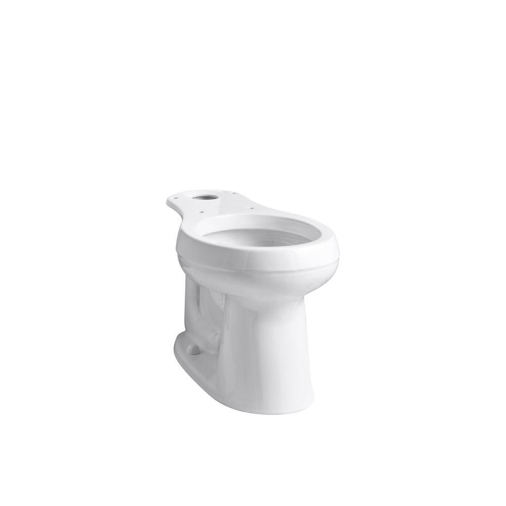 Fantastic Kohler Cimarron Comfort Height Round Toilet Bowl Only In White Dailytribune Chair Design For Home Dailytribuneorg