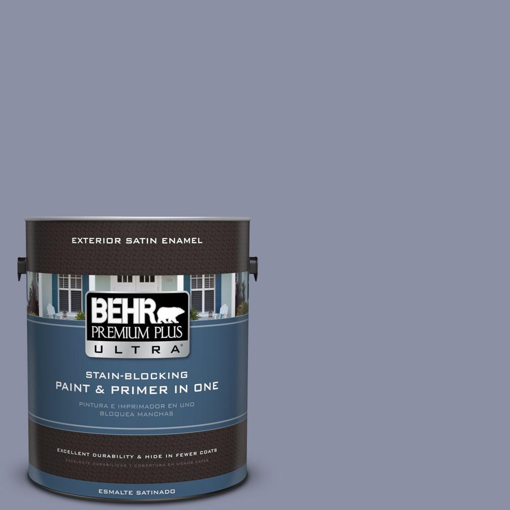 BEHR Premium Plus Ultra 1-gal. #S550-4 Camelot Satin Enamel Exterior Paint
