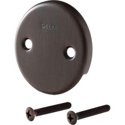 Classic Collection Overflow Plate and Screws in Venetian Bronze