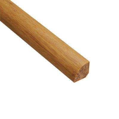 Strand Woven Wheat 3/4 in. Thick x 3/4 in. Wide x 94 in. Length Bamboo Quarter Round Molding