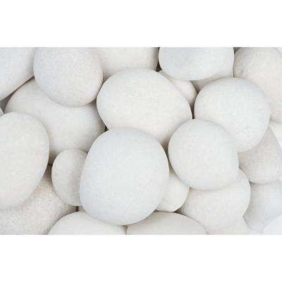 3 in. to 5 in., 30 lb. Large Egg Rock Caribbean Beach Pebbles