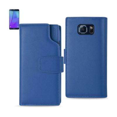Galaxy Note 5 Genuine Leather Design Case in Ultramarine
