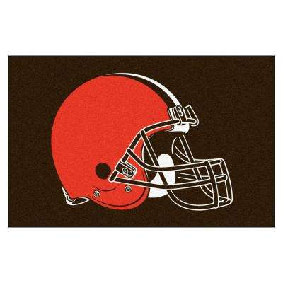 Cleveland Browns 19 in. x 30 in. Accent Rug