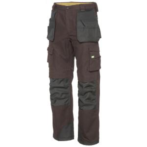 Carhartt Men S 36 In X 30 In Moss Cotton Ripstop Relaxed Fit Work Pant B342 Mos The Home Depot