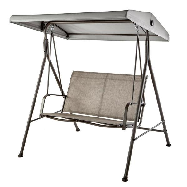 Stylewell Mix And Match 2 Person Steel, Patio Swing Home Depot