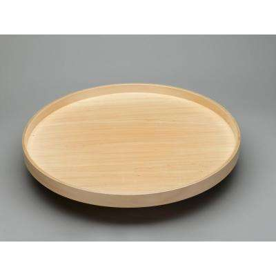32 in. Banded Wood Full Circle Lazy Susan w/steel bearing