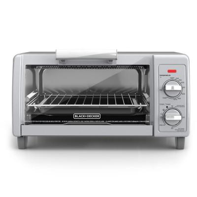 Easy Control 1150 W 4-Slice Stainless Steel Toaster Oven