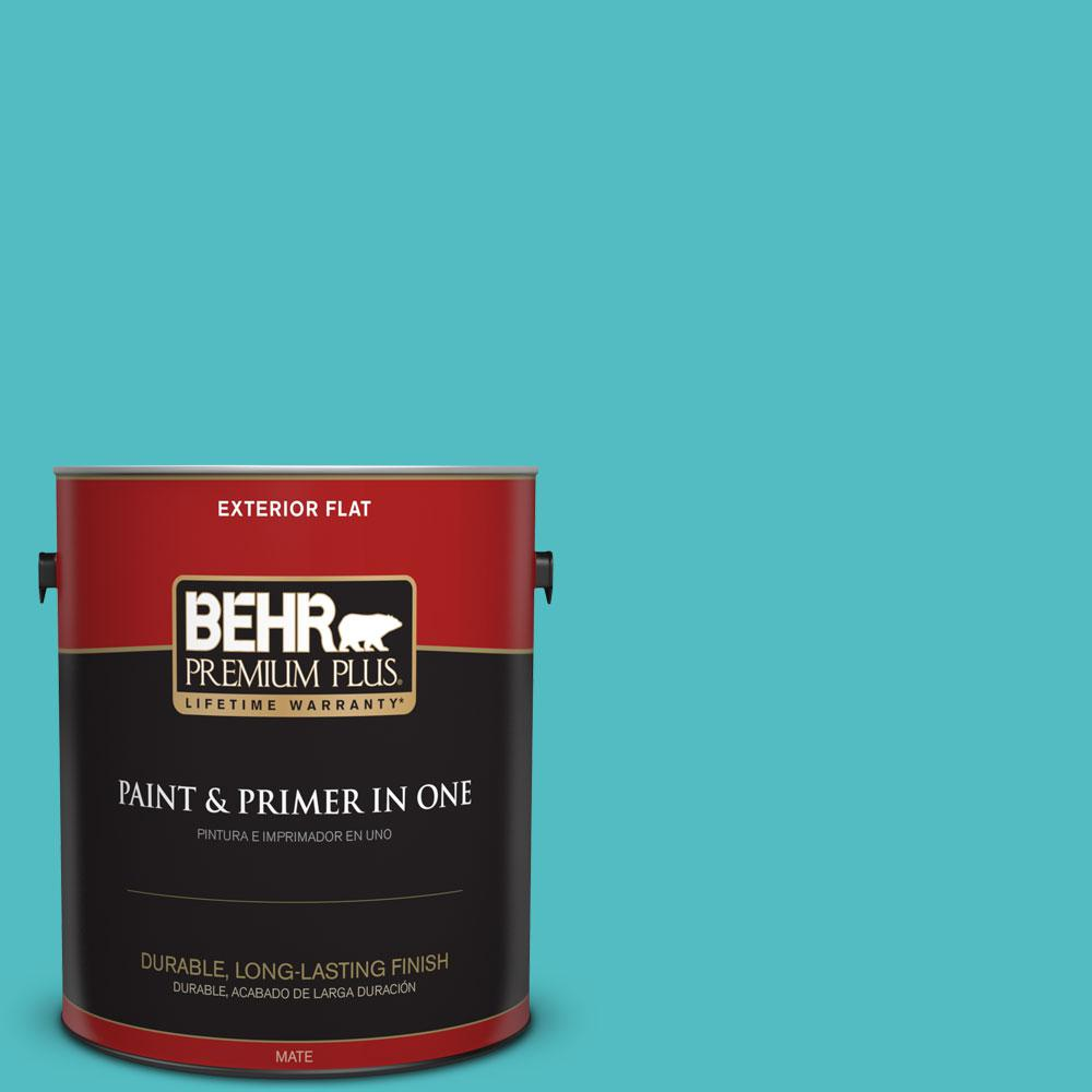Home Decorators Collection 1-gal. #HDC-WR14-6 North Wind Flat Exterior Paint