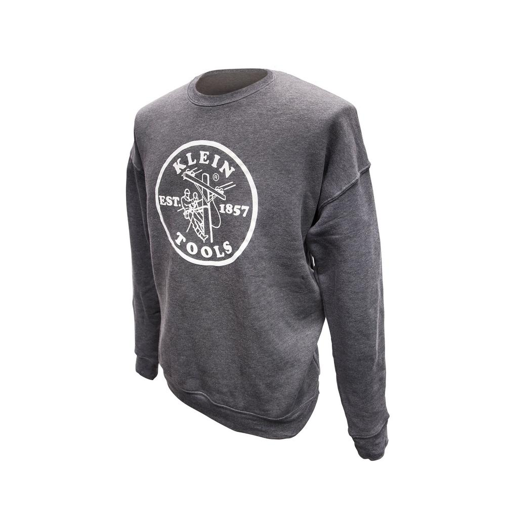 Unisex Size Medium Gray Crewneck Sweatshirt