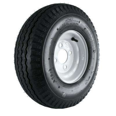 570-8 Load Range B 4-Hole Trailer Tire and Wheel Assembly