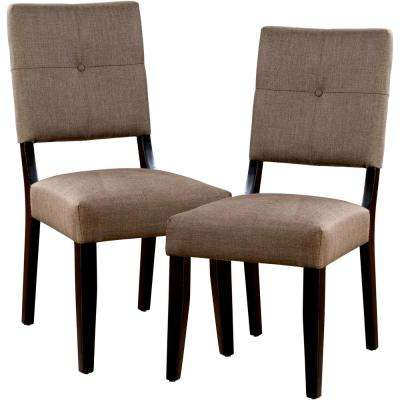 Bayside II Espresso Dining Chair (Set of 2)