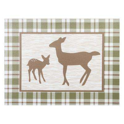 Deer Lodge Canvas Wall Art