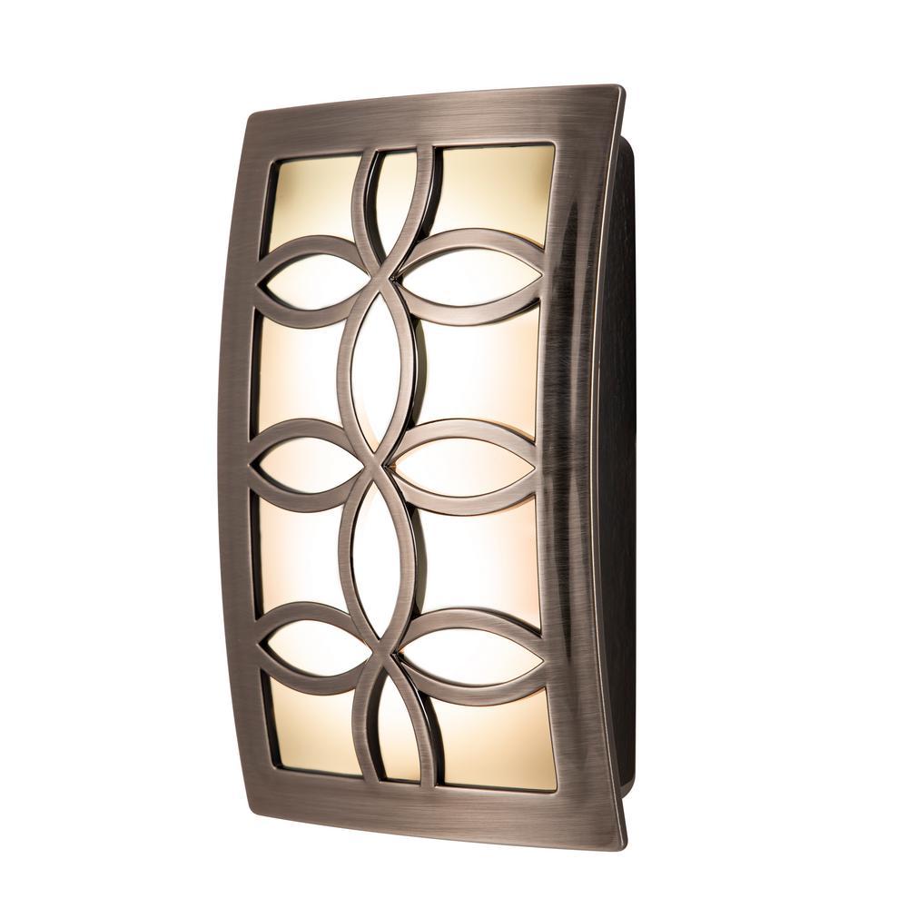 Nickel LED CoverLite Night Light