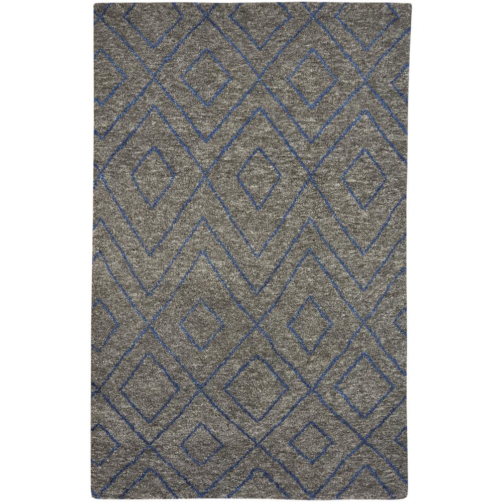 Fortress Jewel Smoke 5 ft. x 8 ft. Area Rug