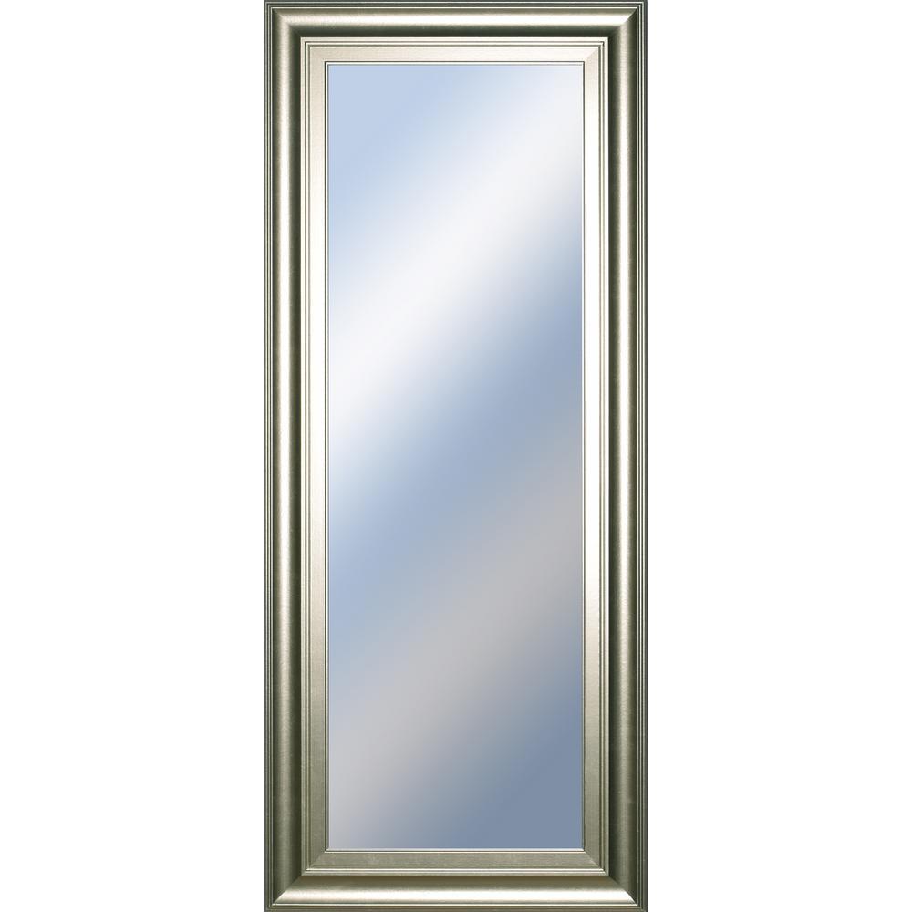 "18 in. x 42 in. ""Decorative Framed Wall Mirror"" by Classy Art Framed Wall Mirror"
