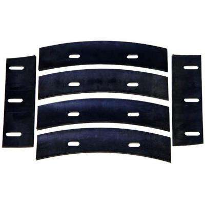 Rubber Replacement Blades for 4 cu. ft. Steel Mortar Mixer