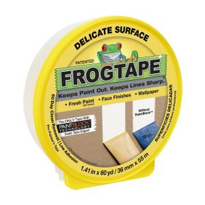 Frogtape Delicate Surface 1 88 In X 60 Yds Painter S Tape