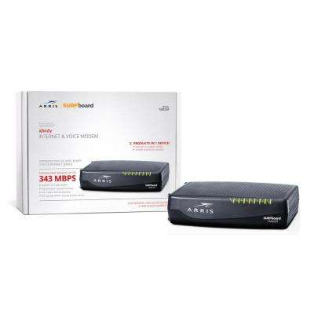 Xfinity TM822R Internet and Voice Modem DOCSIS 3.0