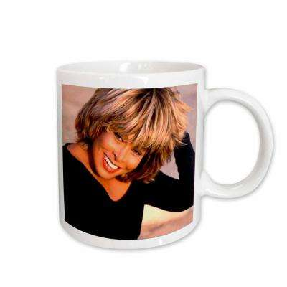 Tina Turner 11 oz. White Ceramic Tina Turner Mug