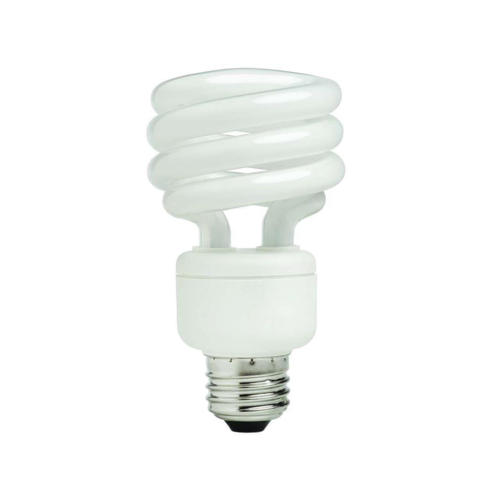 75-Watt Equivalent Soft White Spiral CFL Light Bulb (4-Pack)