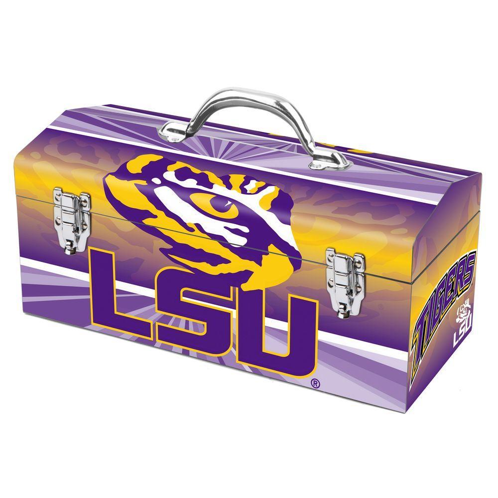 16 in. Louisiana State University Art Tool Box