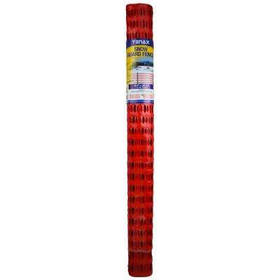 4 ft. x 50 ft. Snow Guard Fence and Warning Barrier