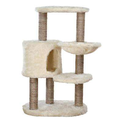 Cream Moriles Cat Tree