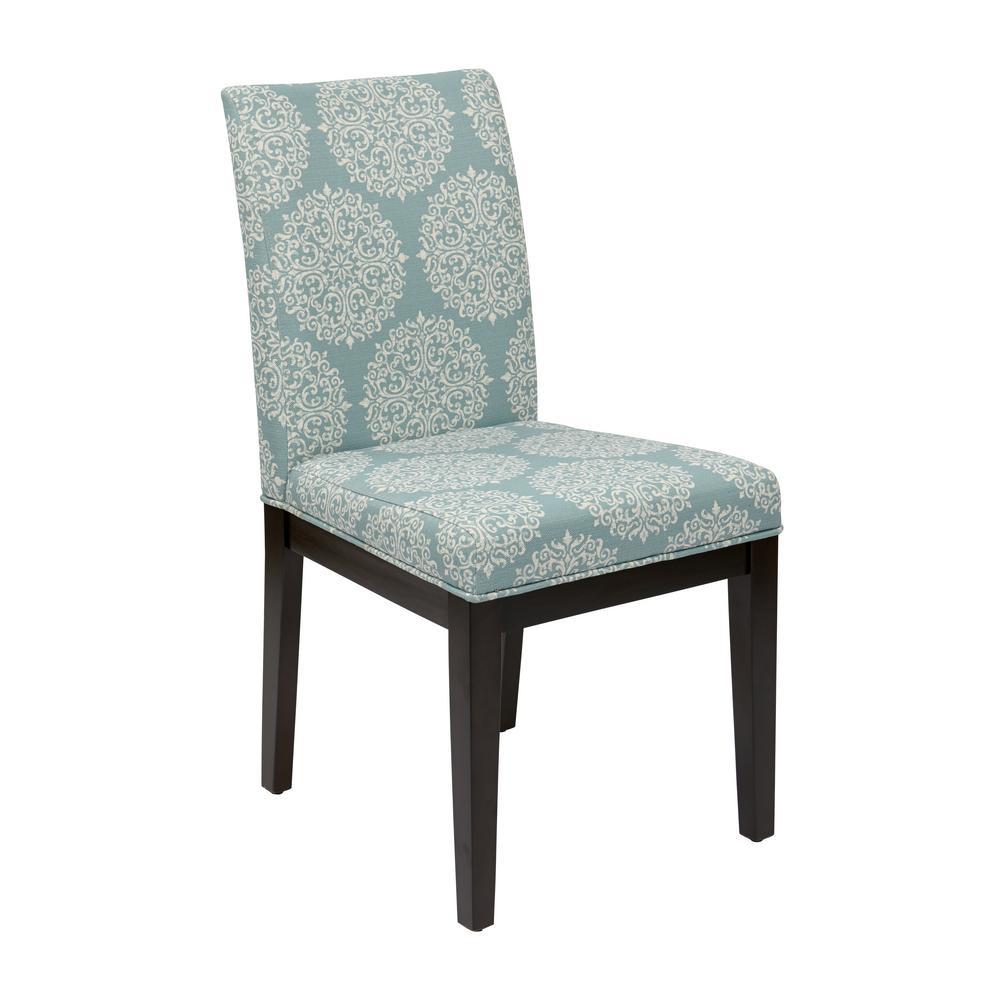 Gabrielle Sky Fabric Dakota Parsons Chair