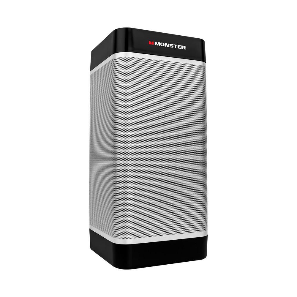 M monster tower of music 20 watt portable wireless for F d portable speakers