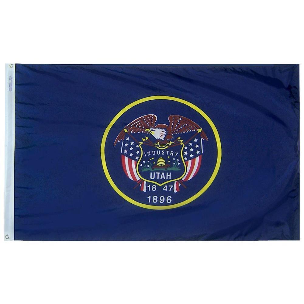 Annin Flagmakers 3 ft. x 5 ft. Utah State Flag