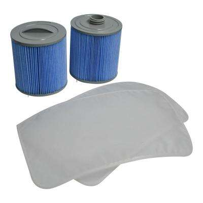 100 sq. ft. Glacier Microban Silverstream Filter Set