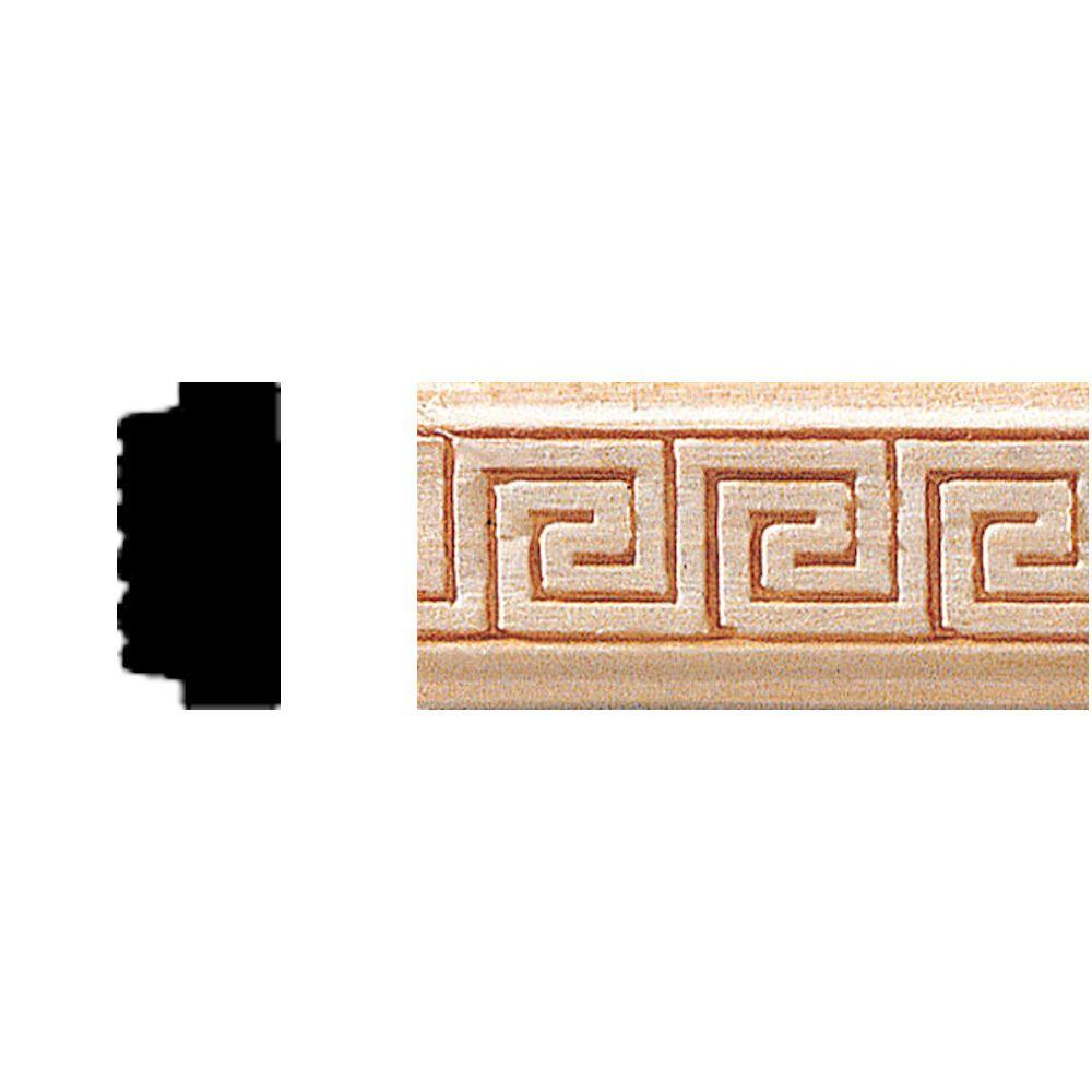 3/8 in. x 3/4 in. x 8 ft. Hardwood Panel Moulding