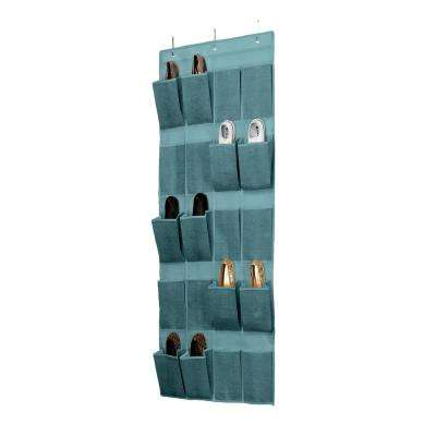20-Pocket Over-the-Door Shoe Organizer