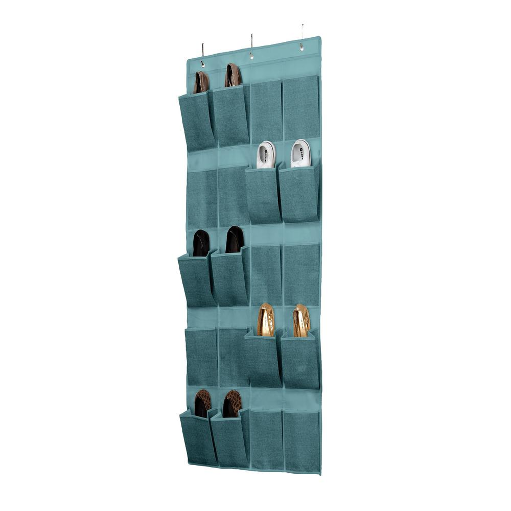 Simplify 20 Pocket Over The Door Shoe Organizer