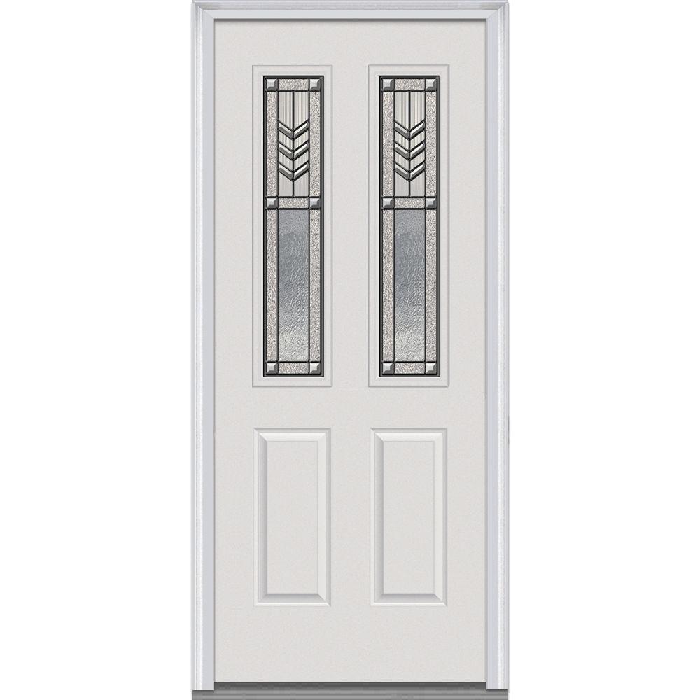MMI Door 34 In. X 80 In. Prairie Bevel Left Hand 2