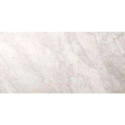 Bianco Gioia 4 in. x 8 in. Marble Floor and Wall Tile