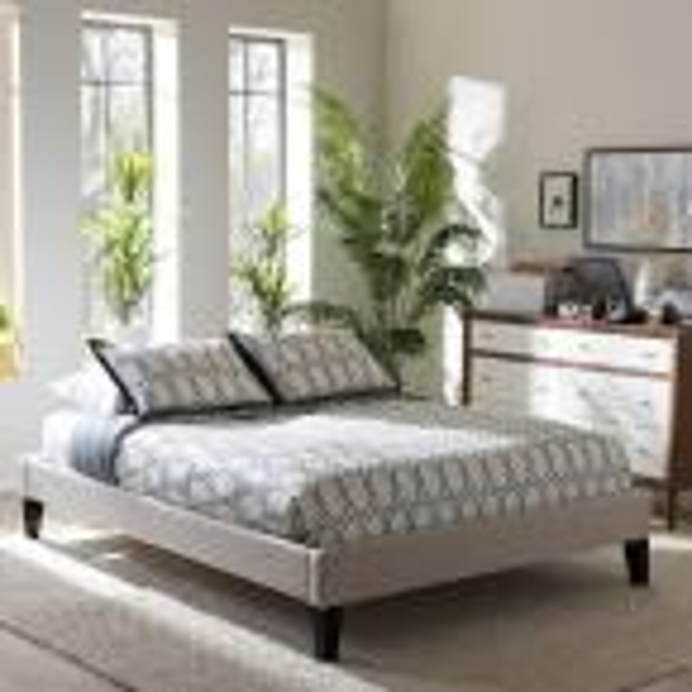 Lancashire King Fabric Upholstered Bed