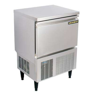 Cocktail Series 110 lb. Freestanding Ice Maker in Stainless Steel