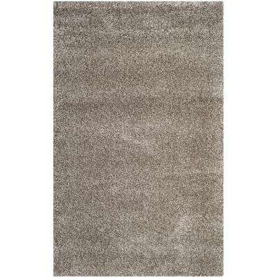 Milan Shag Gray 8 ft. x 10 ft. Area Rug