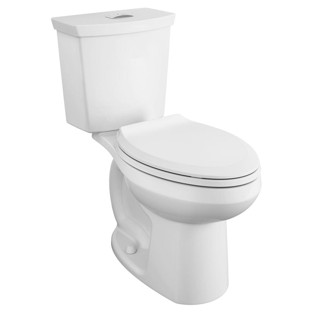 Super American Standard Cadet 3 Tall Height 2 Piece 1 0 1 6 Gpf Dual Flush Elongated Toilet With Slow Close Seat In White Gmtry Best Dining Table And Chair Ideas Images Gmtryco