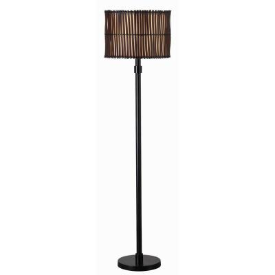 Bora 59 in. Bronze Outdoor Floor Lamp